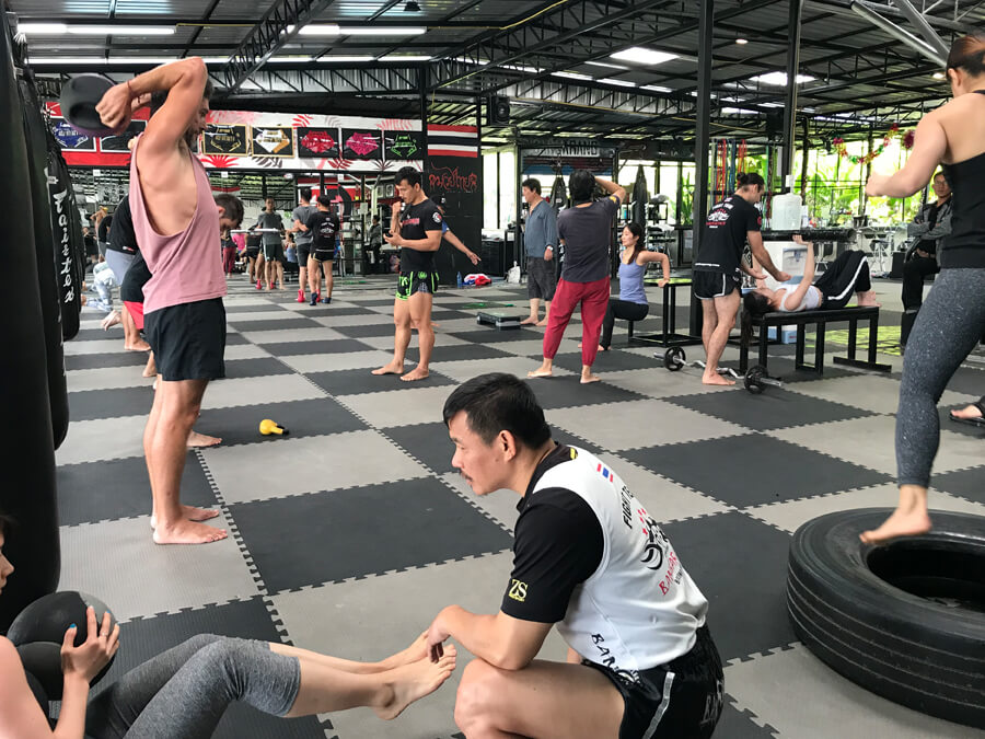 fitness camp thailand